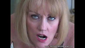 cougar melanie rock hard-on deep-hatch blowage